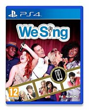 We Sing (PS4) SOLUS BRAND NEW SEALED