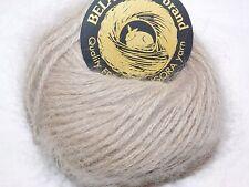 OATMEAL 1 Skein Galler BELANGOR 100% ANGORA Rabbit Fur ULTRA-SOFT Luxury Yarn