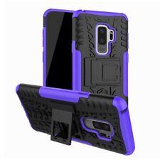 Hybrid Case 2teilig Outdoor Lila Tasche Hülle für Samsung Galaxy S9 G960F Hülle