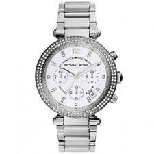 Orologio Donna Michael Kors Parker MK5353 cronografo in acciaio