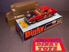 1973 Dinky Toys - 213 FORD CAPRI RALLY CAR + Original Bubble Box - Play Worn