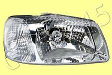 White Headlight Front Lamp RH Fits Hyundai Accent 2000-2002