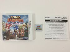 Sonic Boom Shattered Crystal Nintendo 3DS Auth CIB