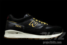 New Balance 1500 x FOOT PATROL ENCYCLOPEDIA Size 9.5 BLACK GOLD M1500FPK