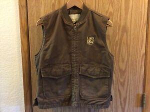 UPS Uniform Vest Vintage Brown Medium 38-40