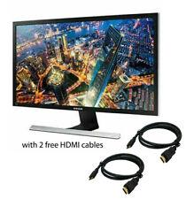 "Samsung Computer LED Monitor Screen Series E510D 28"" UHD LED 4K  - Black"