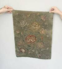 More details for antique woolwork tapestry, 18th century