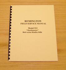 Remington Model 513, 510, 511, 512, 514, 521-T Service Manual - 10 Pages - #39
