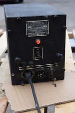 1942 Navy U.S. Military Radio HF Ham WW II Raytheon Rectifier Power Supply Unit