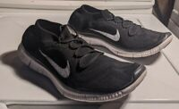 Nike Free Run Flyknit+ Mens Athletic Running & Training Shoes Size 12 Black