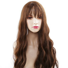 Synthetic Wavy Wig High Temperature Black Purple Pink Colored Cosplay Wigs LH