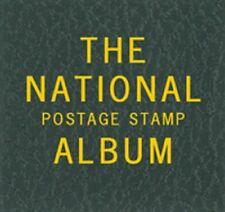Scott Album LABEL LB058 For National Postage Stamp Green Binder Gold Letterings