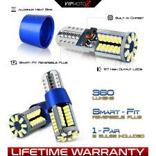 [360 High-Power SMD] 168 T10 194 W5W 921 T15 2825 LED Reverse Backup Light Bulbs