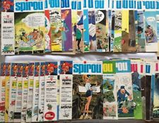 Lot 40 Magazine Revue Spirou n 1864 à 1915 Année 1974 / SANS SUPPLEMENT FRANQUIN