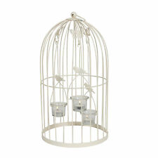 Butterfly/Bird Birdcage 3 Tealight Holder 44.5cm. Wedding Table Centrepiece