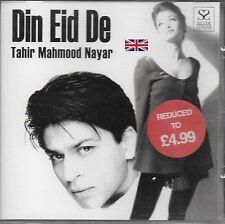 TAHIR MAHMOOD NAYAR - DIN EID DE - NEW SONGS CD - FREE UK POST