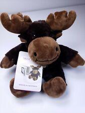 Warmies Cozy Plush Jr Moose by Intelex Authorized US Seller