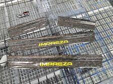 RPG Impreza Logo Forge Carbon Door Sill for 93-01 Subaru Impreza WRX STi GC8 GF8