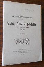 SAINT GERARD MAJELLA 1932 NR.P ALPHONSE Un Puissant Thaumaturge