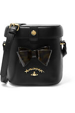VIVIENNE WESTWOOD ANGLOMANIA leather shoulder bag - LAST ONE
