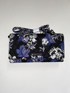 Vera Bradley RFID Wallet Crossbody Frosted Floral - New