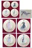 "Rosanna  Porcelain 7.5"" Plates VINTAGE FASHION Set of 4"