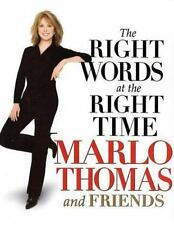 The Right Words At the Right Time by Thomas, Marlo