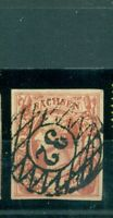 Sachsen, König Nr. 12 gestempelt Nr. 32
