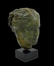 Hygeia Ancient Greek Bronze sculpture Goddess of health artifact