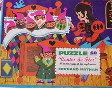 Puzzle Blanche Neige et les 7 Nains, Fernand Nathan - Cavahel Vintage