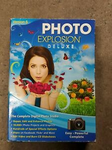 Photo Explosion Deluxe Version 5 Picture Editing Software