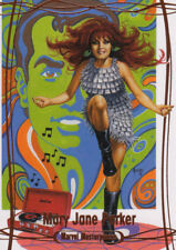 2016 Marvel Masterpieces ORANGE #14 MARY JANE #/99 - Ship 25 Cents 4 Extra Cards