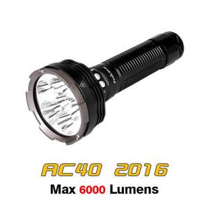 Fenix RC40 2016 Cree XM-L2 LEDs 6000 Lumens Searchlight Flashlight Torch