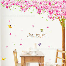 Large Sakura Flower Tree Wall decal Removable stickers decor art kids nursery