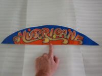WILLIAMS HURRICANE PINBALL MACHINE TOPPER DECAL 31-1638-1!