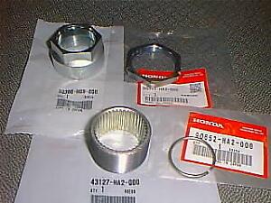 HONDA OEM Axle Collar Nut Set #43127-HA2-000 NEW TRX400EX ATC350X TRX450R 250X
