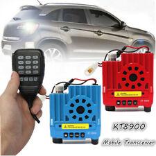 QYT KT8900 136-174/400-480MHz Dual Band 25W VHF UHF Car Mobile Radio W/