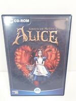 PC CD-Rom American McGee's Alice Game EA Games