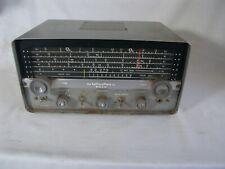Vintage Hallicrafters S-107 Tube Shortwave Am Cw Sw Radio Ham Receiver Multiband