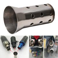 51mm silencieux tuyau d'échappement moto universel peut insérer déflecteur DB PB
