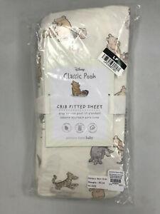 Pottery Barn Kids Organic Winnie the Pooh Crib Fitted Sheet