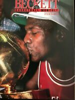 1991 Beckett Basketball Magazine Michael Jordan Bulls Issue #14 September MINT!!