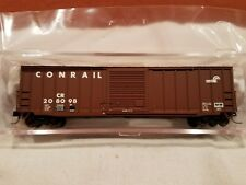 N SCALE ATLAS #50001292 PRICISION DESIGN 50' RIB-SIDE BOX CAR CONRAIL RD #208098