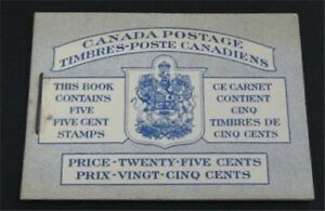 nystamps Canada Stamp Early Booklet   L23y2844