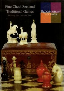 """Bloomsbury """"Fine Chess Sets & Traditional Games"""" Auction Catalogue, 2006"""