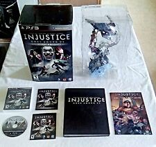 Injustice: Gods Among Us Collector's Edition (PS3, 2013) Plus CE Guide