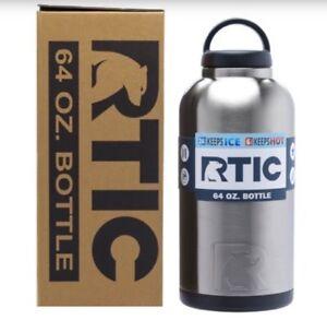 RTIC 36oz 64oz Bottle Rambler Hot Cold Drink Travel Coolers NEW
