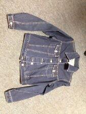 Fluid Jeans Size Large Jean Jaket 100% Cotton