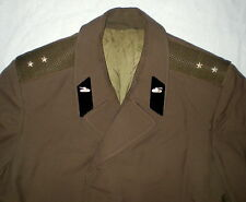 Russian Soviet Officer Army Cape Coat Military Uniform CCCP Cloak Original USSR