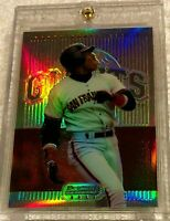 BARRY BONDS 1995 BOWMAN'S BEST RED REFRACTOR #13 VERY RARE GIANTS